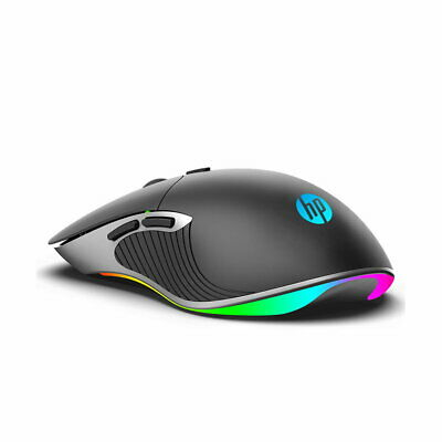 AU29.99 • Buy Hp M280 Optical Gaming Mouse Rgb Backlight 6400 Dpi (black)