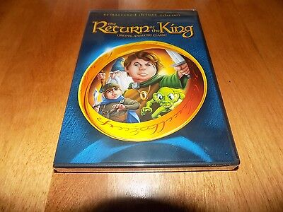 $34.95 • Buy THE RETURN OF THE KING Remastered Deluxe Edition Animated Rankin Bass DVD NEW