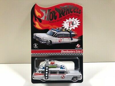 Rare RLC Members Only ECTO-1 GHOSTBUSTERS HOT WHEELS GHOST BUSTERS • 117.31£