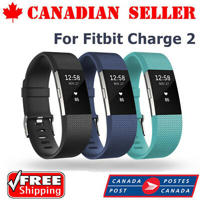 $ CDN6.99 • Buy High Quality Silicone Replacement Band For Fitbit Charge 2 Clasic Wrist Bracelet