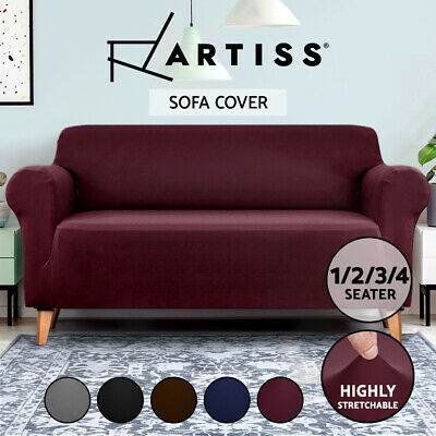 AU22.95 • Buy Artiss Sofa Cover Couch Covers 1 2 3 4 Seater Slipcover Lounge Protector Stretch