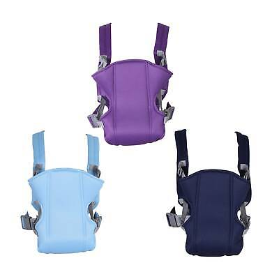 Adjustable Infant Baby Carrier Wrap Sling Hip Seat Newborn Backpack Breathable • 7.59£
