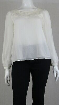 AU16.50 • Buy Forever New White Blouse 16 By Reluv Clothing