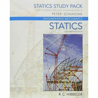 Statics Study Pack - For Engineering Mechanics: Statics - Paperback NEW Russell • 47.87£