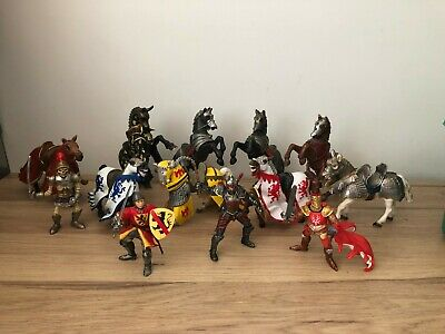 £7.95 • Buy MEDIEVAL HORSES & KNIGHTS Choose Fantasy Toy Figure By Schleich Papo ELC Etc