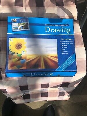 Drawing An Artist First Step 6 Coloured Pencils 6 Oil Pastels Instruction Book • 7.49£