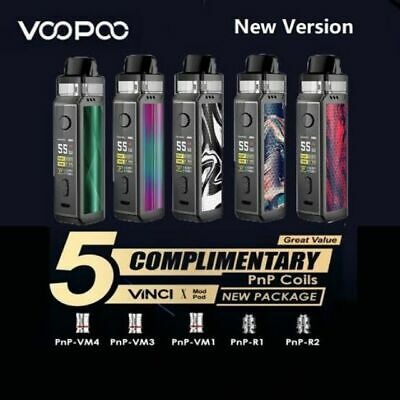 Genuine Voopoo Vinci X Pod Kit With 5 Coils - Limited  Edition - Perfect Mod Kit • 14.90£