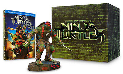 $ CDN49.99 • Buy Teenage Mutant Ninja Turtles - Raphael Gift Set (blu-ray 3d + Dvd + Di (blu-ray)