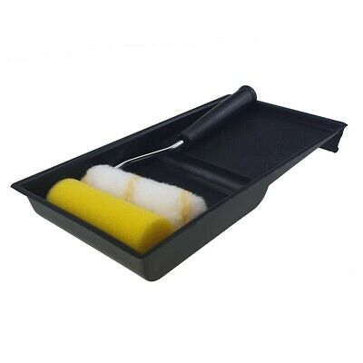 £3.40 • Buy Mini Paint Roller Set Sleeve Size Tray Small Job Decorating Home