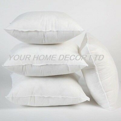 £7.86 • Buy Pack Of 4 Extra Deep Filled 18x18 Inches Cushion Pads Inserts Fillers Scatters