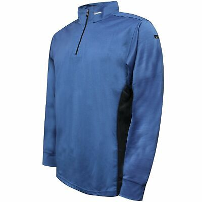 Nike Mens Quarter Zip Track Top Casual Sports Sweat Jacket Blue 129768 426 • 15.99£