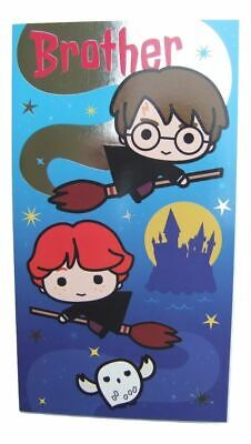 £3.49 • Buy Harry Potter Cartoon Style Birthday Card For A BROTHER By Danilo - HP023