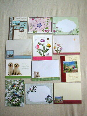 $1.89 • Buy Lot Of 6 Birthday Greeting Cards With Coordinating Envelopes