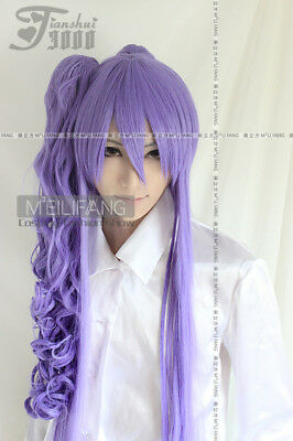 $26.51 • Buy VOCALOID Miku Gakupo COSPLAY Short Wig+Long Clip On Ponytail