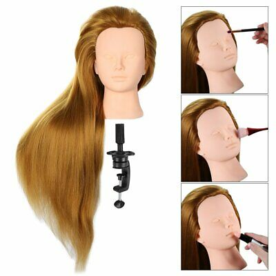 £10.99 • Buy Hairdressing Makeup Training Practice Head Mannequin Doll Hair Professional Tool