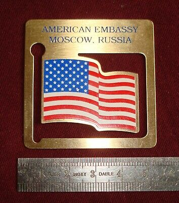 £50 • Buy Official Badge Uniform American Embassy United States USA Moscow Russia Original