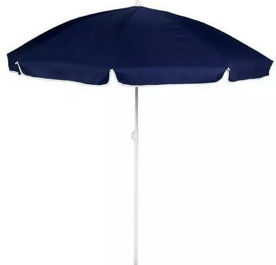 Blue Parasol Garden Umbrella Canopy Cover 1.6M Patio Shade • 19.95£