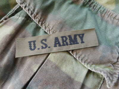 Small Size US ARMY Branch Tape PATCH BADGE INSIGNIA Og Green NEW 1980'S REPO  • 2.99£