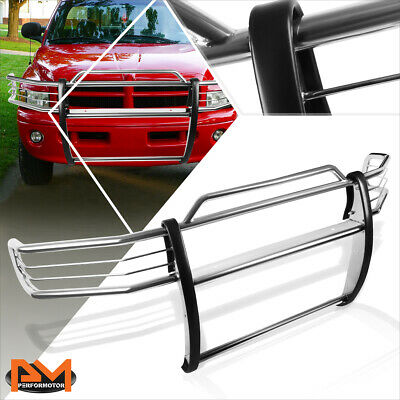$310.89 • Buy For 99-01 Dodge Ram 1500 Sport Front Bumper Brush Grill Guard Protector Chrome