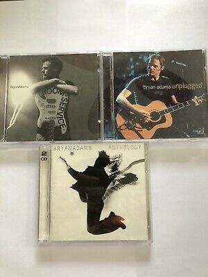 $ CDN9.99 • Buy Bryan Adams Lot Of 3 CD's (Room Service, Unplugged, Anthology)