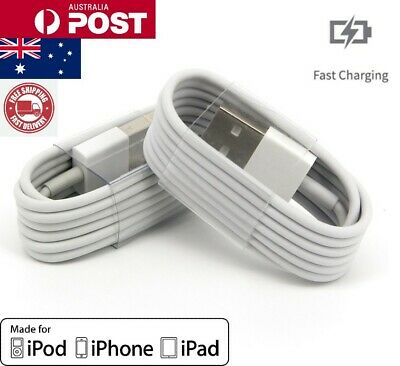AU5.45 • Buy Apple Charger USB Lightening Data Cable Cord For Genuine IPhone 11 Pro X 8 7 6 5