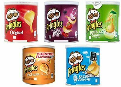 Pringles New Flavour Crisps 12x40g.  Hot Offer With Free Postage. • 9.84£