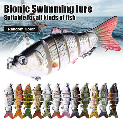 AU13.99 • Buy 5Pcs Bionic Swimming Lure Fishing Bait 10cm Accessories For All Kinds Of Fish AU