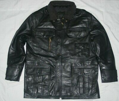 AU109 • Buy M65 Field Leather Jacket Made From Goat Leather (Large Size)