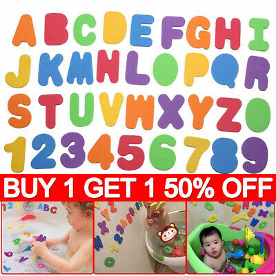 Baby Bath Magnetic Foam Letters And Numbers For Children Toy Net Set Kids Toy YY • 4.99£