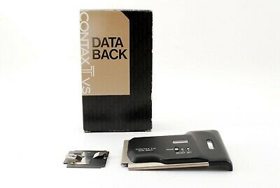$ CDN48.74 • Buy 【Excellent+++++】Contax Data Back Only For TVS 1 2 Carl Zeiss Film Camera JAPAN