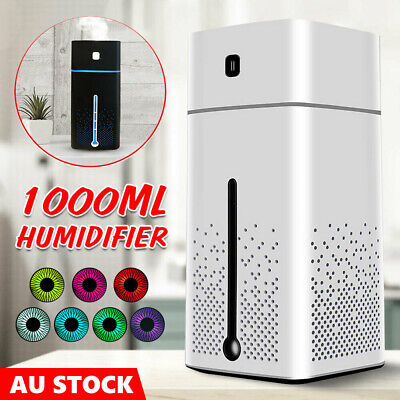 AU19.98 • Buy 1L Ultrasonic Aromatherapy Diffuser Oil Air Humidifier Essential Purifier USB AU