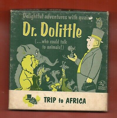 $ CDN20 • Buy 8mm Dr. Dolittle....trip To Africa