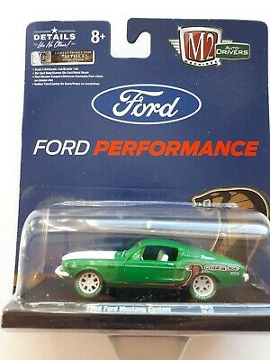 $ CDN38 • Buy M2 MACHINES Auto-Drivers R65 1968 FORD MUSTANG CUSTOM COBRA JET CHASE CAR