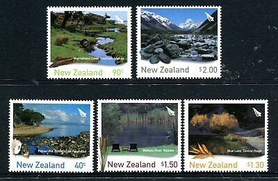 AU12.50 • Buy 2003 New Zealand - Scenic Waterways MUH Set Of 5 Stamps