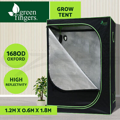AU169.90 • Buy Greenfingers Grow Tent Kits 1680D Oxford 120X60X180CM Hydroponics Grow System