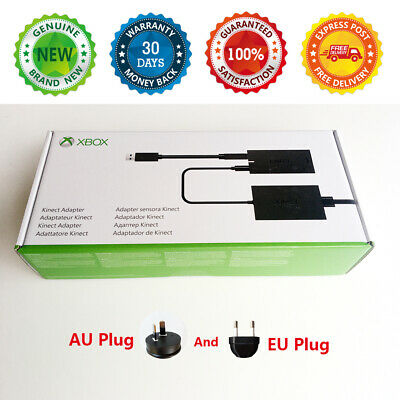 AU139 • Buy Microsoft Genuine Xbox One Kinect Adapter Connector For Xbox One X & One S & PC