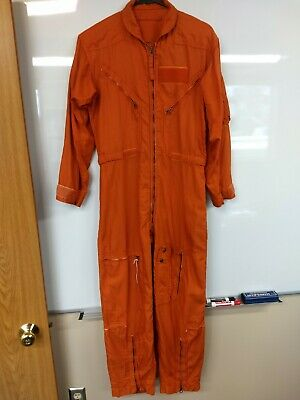 $60 • Buy Military Flight Suit Orange Size Small