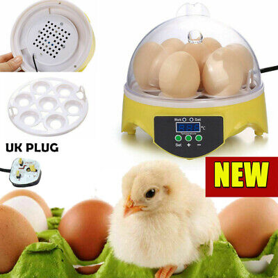 AU36.85 • Buy 7 Digital Egg Incubator Chicken Hatcher Automatic Turning Temperature Control UK