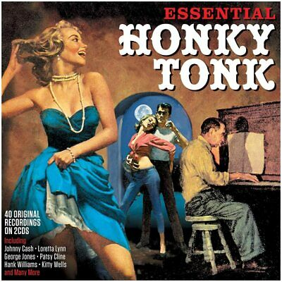 Essential Honky Tonk 2-CD NEW SEALED 2020 Country Ray Price/Johnny Horton+ • 4.99£
