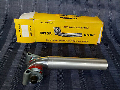 $79 • Buy NITOR UNICATOR - CINELLI VINTAGE SEATPOST 26mm WITH SHIM 27,2 Mm NEW