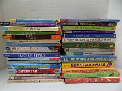 $25.50 • Buy Huge Lot Of 31 Kids Chapter Books Some Classics Horses Judy Bloom Mixed Lot