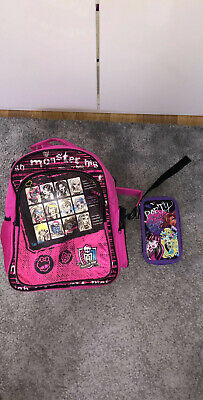 Monster High Back Pack And Pencil Case • 7£