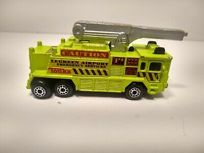 $8.98 • Buy Maisto TE Green Airport Emergency Service Engine Water Cannon Tonka 2000