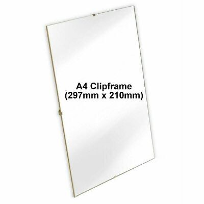 £4.99 • Buy A4 Clip Frame Picture Photo Frame With Plexi Glass Front - A4 Size