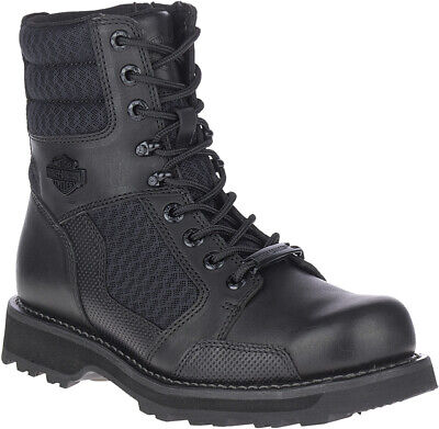 $ CDN194.73 • Buy HARLEY-DAVIDSON FOOTWEAR Men's Lensfield Leather Motorcycle Riding Boots D96204
