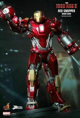AU385 • Buy New Hot Toys 1/6 Iron Man 3 Red Snapper Figure