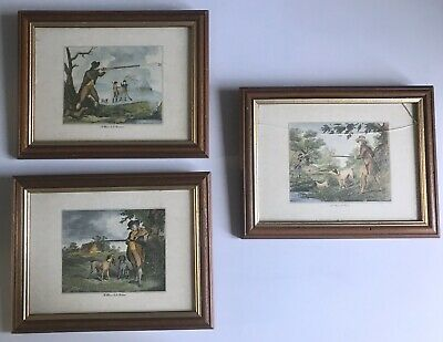 Samuel Howitt Early 19th Century Bird Hunting Prints • 70£