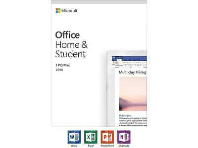 $ CDN148.72 • Buy Microsoft Office Home And Student 2019 | 1 Device, Windows 10 PC/Mac Key Card