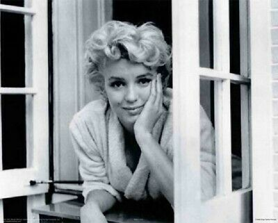 *Marilyn Window Artist Sam Shaw Art Print Poster Wall Decoration Free Ship • 8.85£