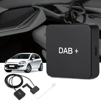 USB Car DAB Box Radio Antenna Tuner FM Transmission Android 5.1 And Above A9H7 • 23.36£